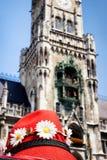 Здание муниципалитет Мюнхена Стоковое Фото
