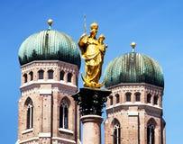 Здание муниципалитет Мюнхена Стоковая Фотография RF