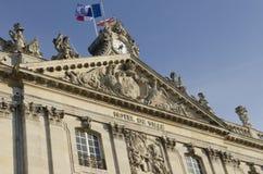 Здание муниципалитет Нэнси в Франции Стоковое Изображение