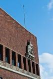 Здание муниципалитет Осло Стоковое Фото