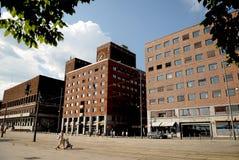 Здание муниципалитет Осло Стоковые Фото