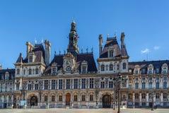 Здание муниципалитет, Париж Стоковые Фото