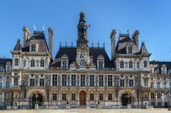 Здание муниципалитет, Париж Стоковое Изображение RF