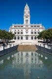 Здание муниципалитет Порту Стоковое фото RF