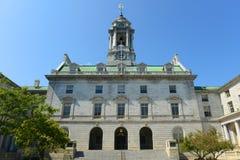 Здание муниципалитет Портленда, Мейн, США стоковое фото rf