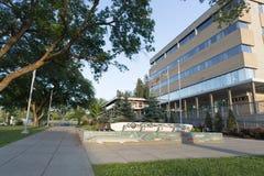 Здание муниципалитет принца Джордж Стоковое фото RF