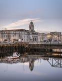 Здание муниципалитет, пробочка, Ирландия Стоковое Изображение