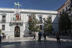 Здание муниципалитет расположенный на старом монастыре стоковые изображения