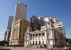 Здание муниципалитет Рио-де-Жанейро Стоковое Фото