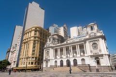 Здание муниципалитет Рио-де-Жанейро Стоковое Изображение RF