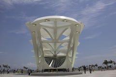 Здание муниципалитет Рио раскрывает музей завтра в портовой зоне Стоковые Изображения