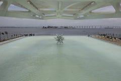 Здание муниципалитет Рио раскрывает музей завтра в портовой зоне Стоковые Изображения RF