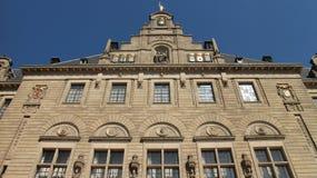 Здание муниципалитет Роттердам Стоковое Изображение RF