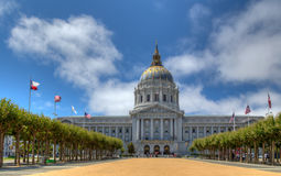 Здание муниципалитет Сан-Франциско Стоковое фото RF
