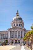 Здание муниципалитет Сан-Франциско Стоковое Изображение