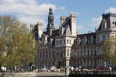 Здание муниципалитет строя Гостиницу de Ville Стоковое Фото