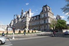 Здание муниципалитет строя Гостиницу de Ville Стоковое Изображение