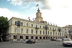 Здание муниципалитет Тбилиси, Georgia Стоковые Фото