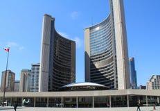 Здание муниципалитет Торонто Стоковые Фотографии RF
