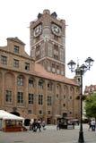 Здание муниципалитет Торуна - Польши стоковая фотография rf