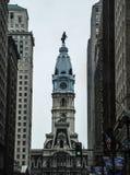 Здание муниципалитет Филадельфии, Филадельфия, Пенсильвания, США стоковая фотография rf