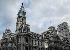 Здание муниципалитет Филадельфии, Филадельфия, Пенсильвания, США Стоковое Изображение RF