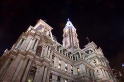 Здание муниципалитет Филадельфии Стоковое Изображение