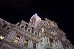 Здание муниципалитет Филадельфии Стоковые Фото