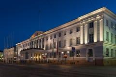 Здание муниципалитет Хельсинки Стоковые Изображения