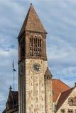 Здание муниципалитет Albany - башня с часами Стоковое Изображение RF