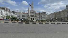 Здание муниципалитет Arad сток-видео