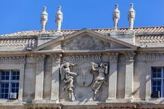 Здание муниципалитет Arles Провансаль Франция стоковая фотография rf