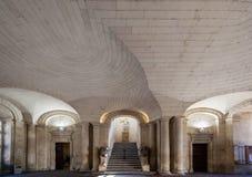 Здание муниципалитет Arles Провансаль Франция стоковые фотографии rf