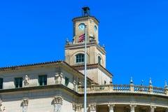 Здание муниципалитет Coral Gables Стоковое Фото