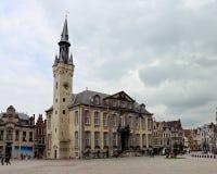 Здание муниципалитет Lier, Бельгия Стоковое Фото