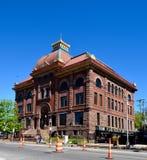 Здание муниципалитет Marquette стоковая фотография rf