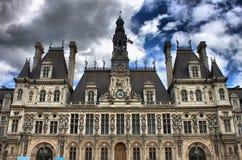 здание муниципалитет paris Стоковые Фото