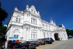 Здание муниципалитет, Penang, Малайзия. Стоковое Фото