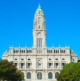 здание муниципалитет porto Португалия Стоковое Изображение RF