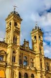 Здание муниципалитет San Sebastian - Donostia, Испании Стоковые Фото