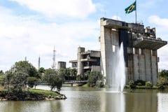Здание муниципалитет Sorocaba Стоковые Изображения