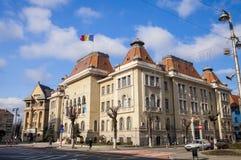Здание муниципалитет Tirgu Mures стоковые фотографии rf
