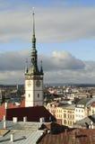 Здание муниципалитет Tover в Olomouc Стоковое Изображение RF