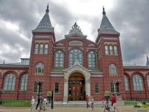 Здание Национального музея смитсоновск Стоковое Изображение RF