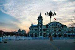 Здание на Пекине Китае Стоковая Фотография RF