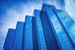 Здание небоскреба Стоковые Фотографии RF