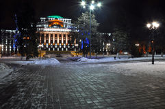 Здание Нового Года Стоковые Фото