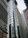 Здание Нью-Йорка сияющее Стоковое Изображение RF