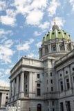 Здание дома & капитолия положения Пенсильвании, Harrisburg стоковое изображение