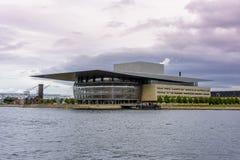 Здание оперы Копенгагена Стоковые Фото